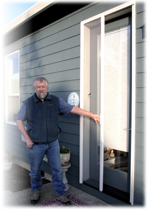 Oregon screen crafts your local screen screen porch and for Storm door with roll up screen